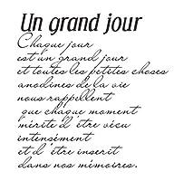 フランス語の単語透明クリアシリコンスタンプ/DIYスクラップブッキング/フォトアルバム用シール装飾クリアスタンプシートAA842