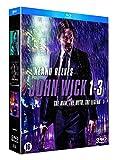 John Wick - Coffret Integrale 3 Films [Blu Ray] [Importación Francia] [Blu-ray]