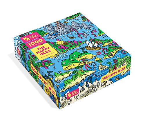 The Happy Isles - 1000-Piece Jigsaw Puzzle from The Magic Puzzle Company