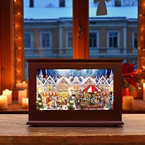 Mr. Christmas 23831 Heirloom Christmas Music Box Weihnachtsdekoration, multi
