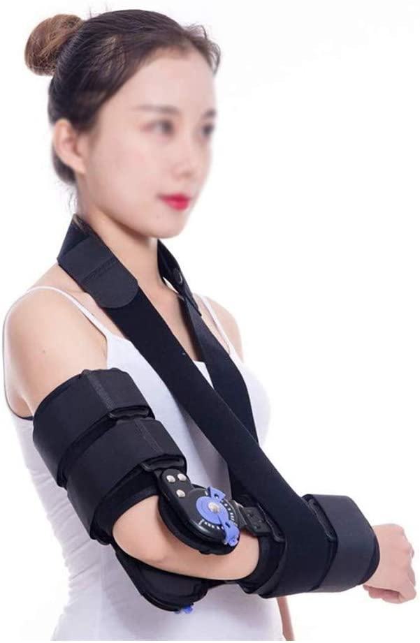 JJZXPJ Post Op Elbow Brace,Elbow OFFicial E Super beauty product restock quality top! Hinged Brace ROM Support