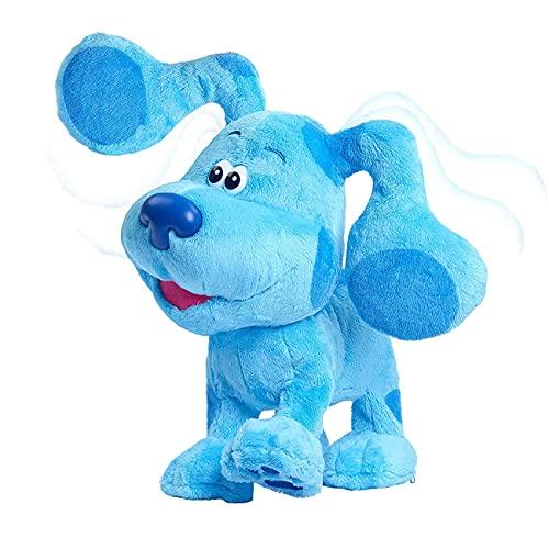 Giocattoli di peluche 20 Cm Blue's Clues & You! Beanbag Peluche Bambola Blu Rosa Cane Morbido Farcito Giocattoli Carino Natale Bambini Indizi Blu Peluche Bambola (blu)
