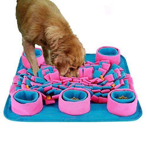 LIVEKEY Pet Snuffle Mat for Dog,Feeding Mat,Nosework Mat,for...