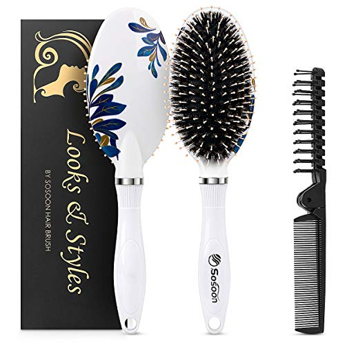 smoothing boars hair brush - 5