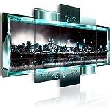 murando - Cuadro de Cristal acrílico 200x100 cm Impresión de 5 Piezas Pintura sobre Vidrio Imagen...