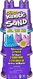 Kinetic Sand-Schimmer Sand 3er Pack 340 g-3 Farben Glitzersand für Indoor Sandspiel Arena Brillante (3 Unidades, Color no se Puede aplicar. (Spin Master 6053520)
