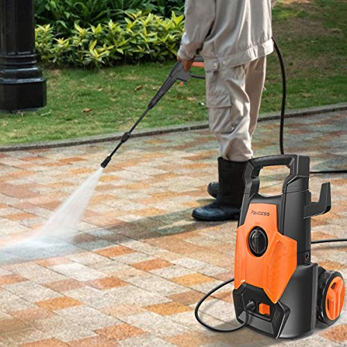 PAXCESS Electric Power Washer 1600 PSi Pressure Washer with 26ft Pressure Washer Hose
