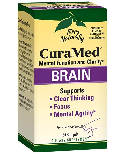 Terry Naturally Curamed Brain - 60 Softgels -...