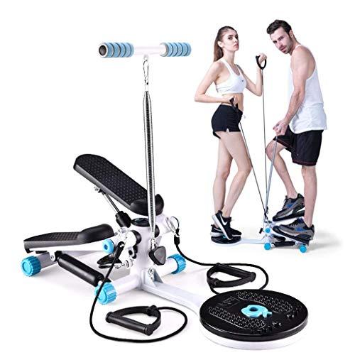 ZGQA-AOC Inicio máquina de pérdida de Peso Mini Pedal de la máquina Equipo de la Aptitud de Interior Dormitorio Cinta de Correr Adelgaza Tubo de Estufa (Color: Azul, Tamaño: los 32cm * 34cm * 19cm)