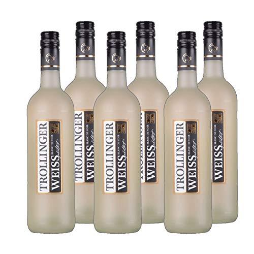 Trollinger weiß Blanc de Noir Weißwein Baden Württemberg 2019 halbtrocken (6 x 0.75 l)