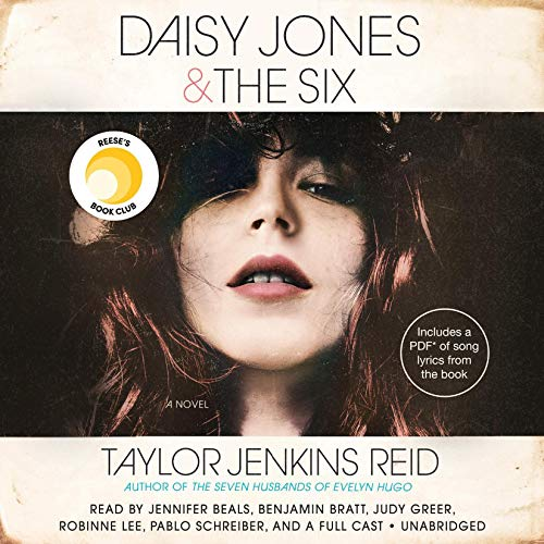 Daisy Jones & The Six audiobook cover art