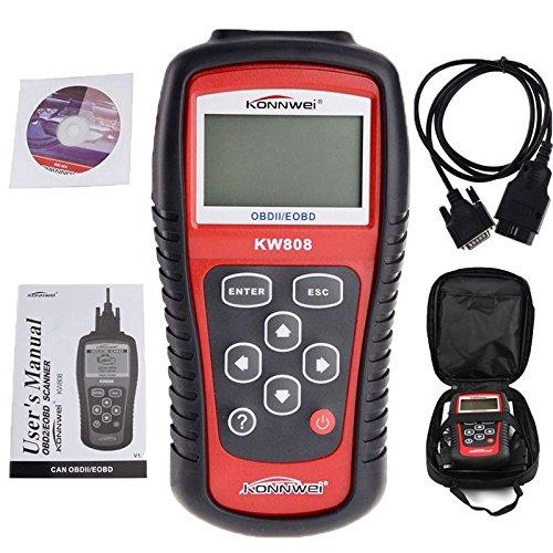 fortunershop EOBD OBD2 OBDII Car Scanner Diagnostic Live Data Code Reader Check Engine US OU