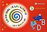 Espiral Letras. Lectoescritura 3 Letra Palo (La Espiral de Las letras) - 9788468214528