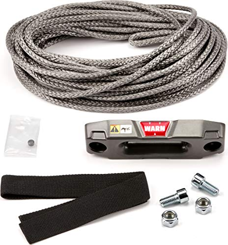 WARN 100969 Accessory Kit - Epic Synthetic Rope for ATV and UTV Winch: 3/16