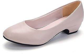 [ワン アンブ] ぺたんこ パンプス 靴 歩きやすい フラット シューズ リクルート レディース