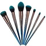 N / A brochas de maquillaje para principiantes, pincel delineador de cejas, lápiz cosmético, herramienta de viaje portátil de alta calidad, para base, polvos, correctores, colorete uso diario