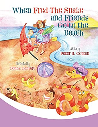 When Fred the Snake and Friends Go to the Beach