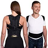 Back Posture Corrector Adjustable Clavicle Brace Comfortable Correct Shoulder Posture Support Strap for Women and Men Improve Posture Correction