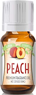 Peach Scented Oil by Good Essential (Premium Grade Fragrance Oil) - Perfect for Aromatherapy, Soaps, Candles, Slime, Lotions, and More!