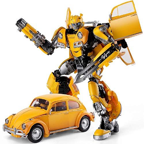 BMB Transformer Robot LS07 Bee Alloy KO Version Beetle Car Movie Voyager Edition Action Figure Model Collection Toys