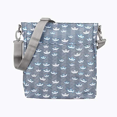 Crema gran capacidad//Bolso organizador con cambiador impermeable por dentro COLECCI/ÓN DOUBLE LOVE Meli+Lali Meli+Lali Bolso para carro de beb/é UNIVERSAL