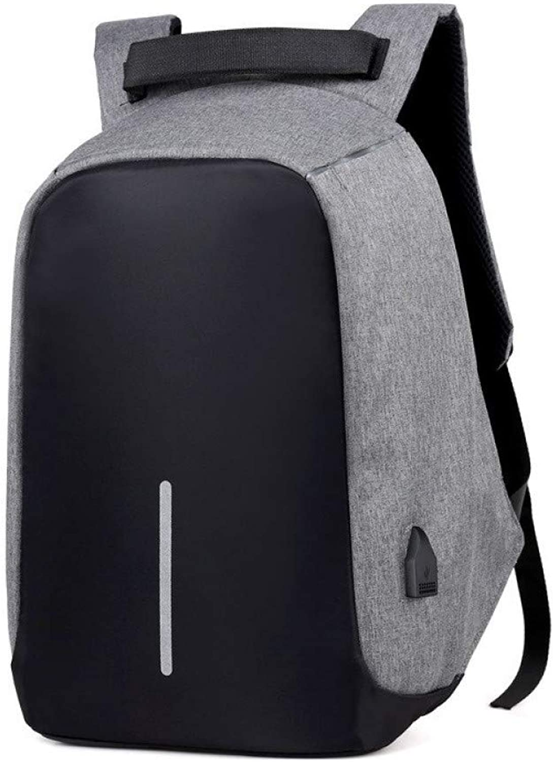 HUYANNABAO Backpack Men's High Capacity Business USB Charging Men's Waterproof Anti-Theft Laptop Backpack College College Backpack