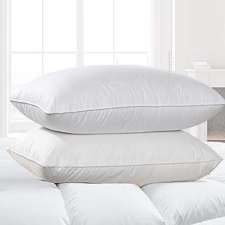 CCAN Oreillers pour Dormir, oreillers de lit Lot de 2 oreillers de qualité hôtelière, oreillers hypoallergéniques alternat...