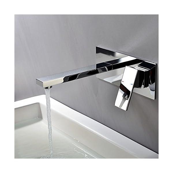 Grifo de lavabo Grifo de baño Grifo de lavabo Grifo de pared fría y caliente