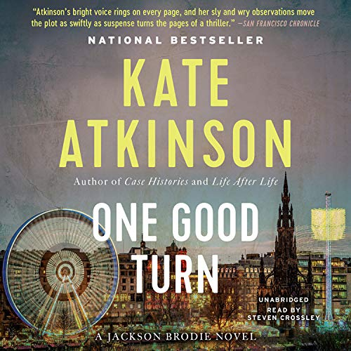 One Good Turn Audiobook By Kate Atkinson cover art