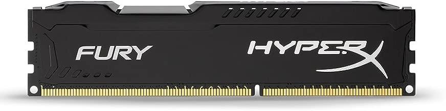 Kingston 4GB HyperX FURY 1866MHz DDR3 CL10 Desktop Ram Black -HX318C10FB/4