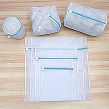 6 Sizes Washing Laundry Bag Wash Socks Bra Underwear Pouch Foldable Protection Lingerie Wash Bags Mesh Clothing Washing Ba...