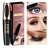 Professional 4D Silk Fiber Lash Mascara, Waterproof, Long-Lasting, No Clumping, No Smudging, Longer