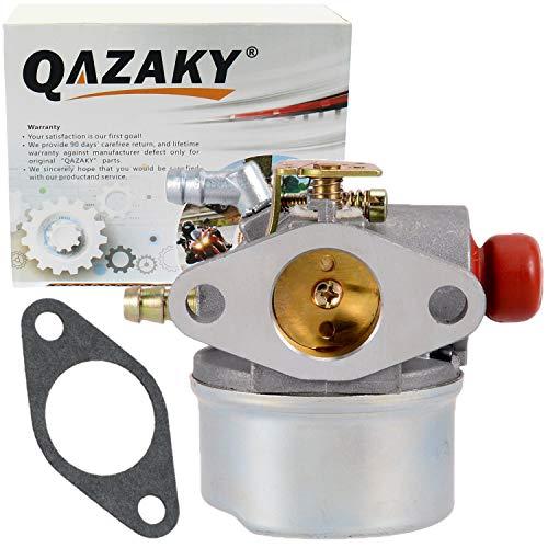 Carburetor Compatible with Yerf Dog 3202 3203 3204 3205 3208 30032  193cc 6.5HP Go Kart Tecumseh 4.5HP 5HP 5.5HP 6HP 6.5HP Horizontal Craftsman 5028 5087 5243 5333 50653 13152 - QAZAKY 30033 30034 40093