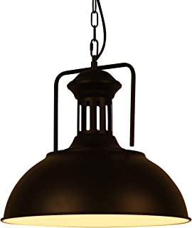 Huahan Haituo Lampa wisząca w stylu vintage, retro, metalowa, industrialna, lampa sufitowa, bar, kawiarnia, sklep, kuchni...