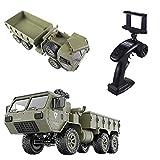 OATop Camion Militaire 2.4G M977 Camion 6WD avec Webcam 0.3Mpx Camion Télécommande