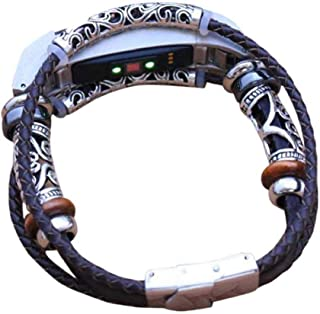 Cinturino alla moda, Scpink Sottili cinturini in pelle con cinturino in pelle, cinturino accessorio per cinturino per brac...