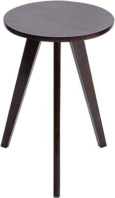 サイドテーブル ローテーブル シンプルな小高い 小さな丸テーブル クリエイティブ多機能コーヒーテーブル 柔軟な小さな芸術的 装飾スペース ギフト (Color : Black, Size : 40*60cm)
