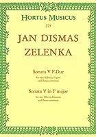ヤン・ディスマス・ゼレンカ : ソナタ 第五番 ト短調 ZWV.181.5 (オーボエ2本、ファゴット、通奏低音) ホルトゥス・ムジクス(ベーレンライター)出版