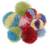 OoMaLoo Hand Knit Squeaky Ball Dog Toy Large 5' (Ball-L)