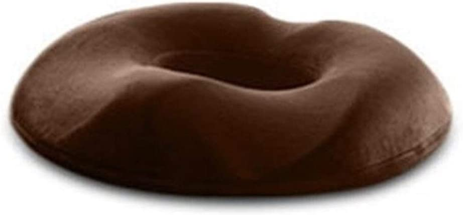 Cojin Hemorroides Lucha contra las hemorroides silla de masaje del amortiguador de asiento de la cadera ortopédica empuja hacia arriba yoga Comfort Foam Tailbone Oficina del coche amortiguador de la a