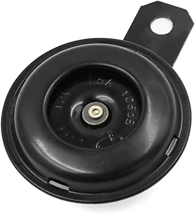 uxcell a15111600ux0161 Universal Waterproof Round Loud Horn Speaker 12V 1.5A for Motorcycle