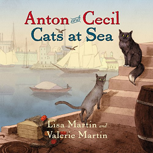 Anton and Cecil audiobook cover art
