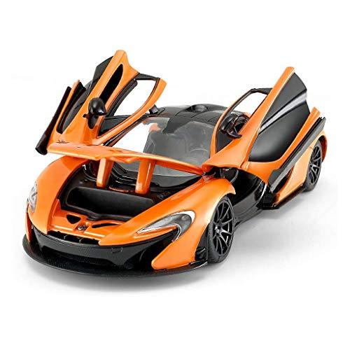 XHAEJ Modelo de automóviles 1/24 Aleación estática Modelo de automóvil Modelo de Juguete para niños Modelo Modelo Modelo Tres Puertas se Pueden Abrir Compatible con McLaren P1 (Color : Orange)