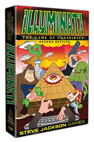 Steve Jackson Games SJG01387 Illuminati 2nd Edition - Multicolor