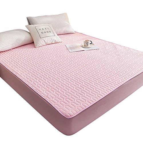 UKUCI Protector de colchón Impermeable Colcha a Prueba de Polvo Acolchado Espesar Caliente sábana Colcha JAN88