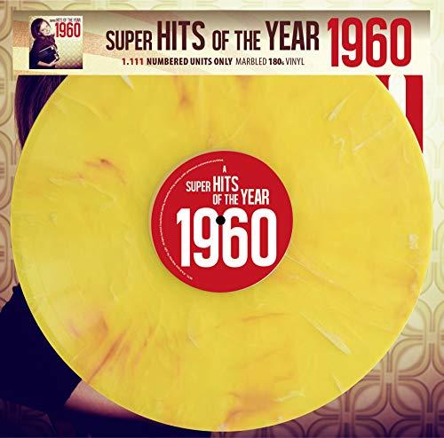 Super Hits Of The Year 1960 - Limitiert und 1111 Stück nummeriert - 180gr. marbled Vinyl [Vinyl LP / 180g]