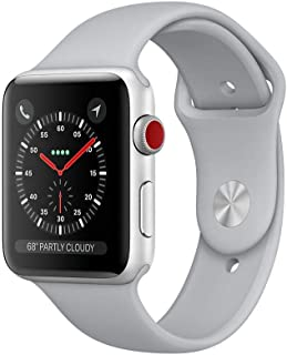 Apple Smart Watch Rubber Band For iOS,Silver - MQKU2