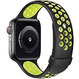 Fengyiyuda Compatibile con Cinturino Apple Watch 38mm 40mm 42mm 44mm, Cinturino di Ricambio in Silicone per Iwatch series 6/SE/5/4/3/2/1