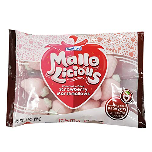 MalloLicious Yummy Flavored Marshmallows Mallolicious 7 Ounce Bags  2 Pack Strawberry