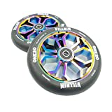 Villain ONE20 Replacement Scooter Wheels 24mm x 120mm Neo Chrome